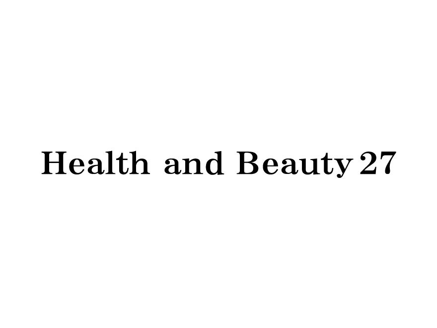 Health and beauty27【公式サイト】オープンいたしました。